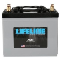 Battery - 12V 80A 550CCA GPL-24T Lifeline Deep Cycle AGM