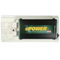 ePower Inverter 2000W Wall RCD-GPO-EP2000W