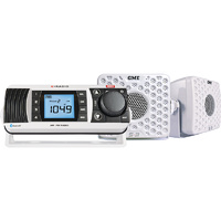 Waterproof AM/FM Radio Pack White GR300BTWEP