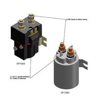 Single Direction 12V Solenoid for 12V Capstan Winches