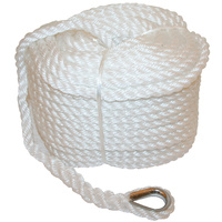 Silver Rope Pack 12mm x 50mt with eye