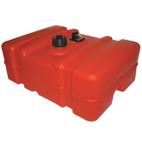 Fuel Tank 45L  LOW Sceptor w Guage Ethanol Safe AS2906