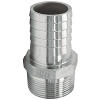 Hose Tail  - 316 Stainless 1 1/2 BSP