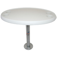 Table Kit - Round with Fixed Height Removable Pedestal
