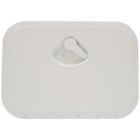 Inspection Hatch Deluxe 375x275 OD White