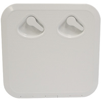 Inspection Hatch Deluxe 380x380 Overall White