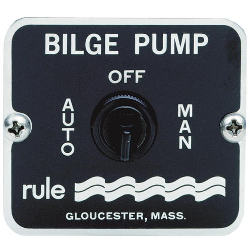 Pump Control Switch Rule 3 Way with out Fusing RWB25
